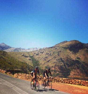 Bains Kloof Road Cycling 2018