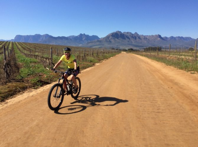 Bottelray Hills Mountain Bike Tour Stellenbosch