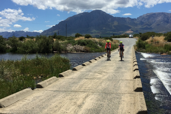 Bains Kloof Pass River Crossing Road Cycle Tour